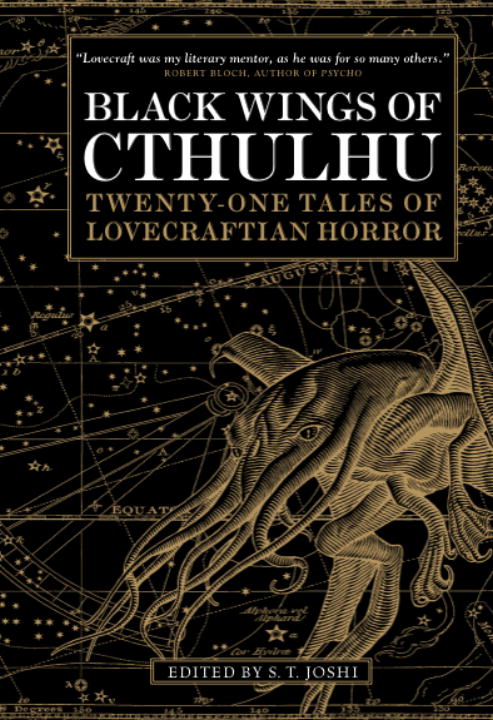 S. T. Joshi Black Wings Of Cthulhu Volume 1 Twenty One New Tales Of Lovecraftian Horror