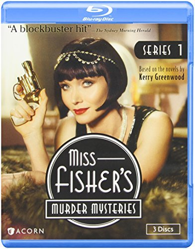 Miss Fisher's Murder Mysteries Series 1 Blu Ray Nr Ws