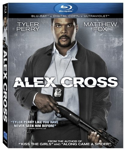 Alex Cross Tyler Perry DVD Pg13