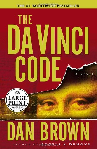 Dan Brown The Da Vinci Code Large Print
