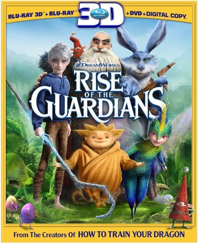 Rise Of The Guardians Rise Of The Guardians Blu Ray 3d Ws Pg