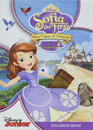 Sofia The First Once Upon A Princess DVD Tvy