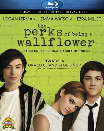Perks Of Being A Wallflower Lerman Watson Miller Blu Ray Dc Pg13 Ws