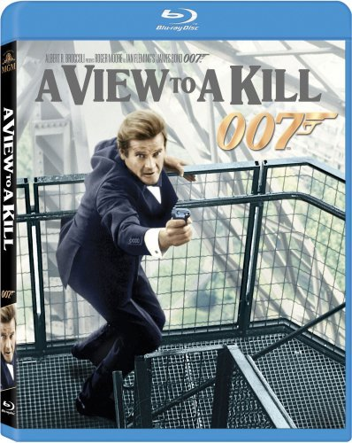 James Bond View To A Kill Moore Roger Pg Blu Ray Ws