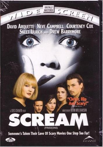 Scream Campbell Cox Barrymore Ws