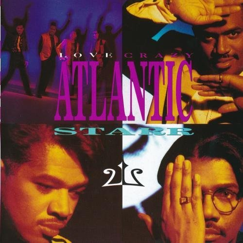 Atlantic Starr Love Crazy CD R