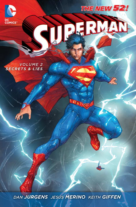 Dan Jurgens Superman Vol. 2 Secrets & Lies (the New 52) 0052 Edition;