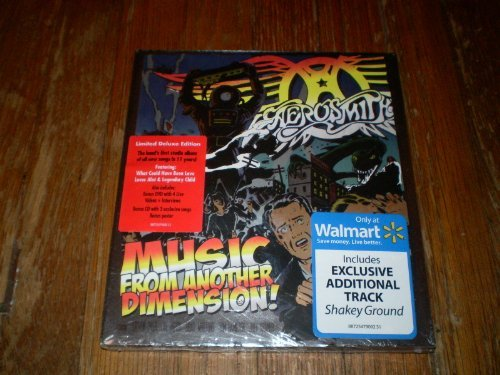 Aerosmith Music From Another Dimension! Limited 3 Disc Set
