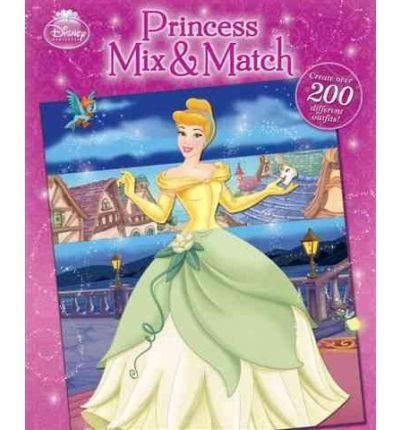 Disney Book Group Princess Mix & Match 0002 Edition;