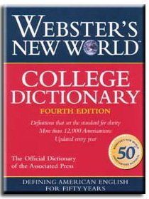 Webster's New World Dictionary Webster's New World College Dictionary Indexed 0004 Edition;