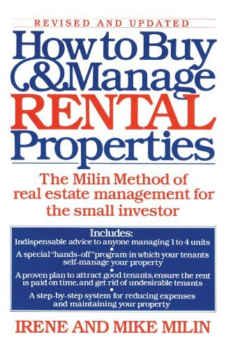 Mike Milin How To Buy And Manage Rental Properties Revised Update