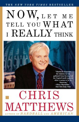 Christopher Matthews Now Let Me Tell You What I Really Think