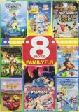 8 Movie Family Fun Pack 8 Movie Family Fun Pack Nr 2 DVD Slimline