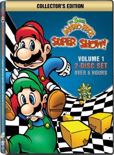Super Mario Brothers Super Show Volume 1 DVD Nr