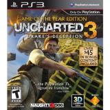 Ps3 Uncharted 3 Drakes Deception Game Of The Year Ed Sony Computer Entertainme Uncharted 3 Drakes Deception Game Of The Year Ed