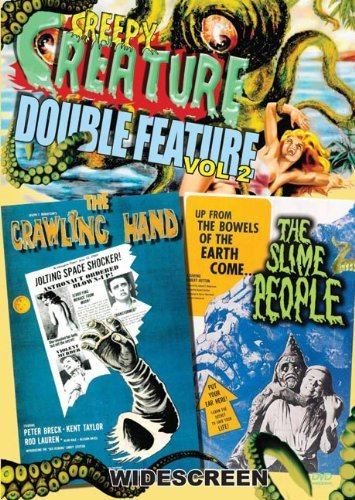 Vol. 2 Crawling Hand Slime Peo Creepy Creature Double Feature Nr
