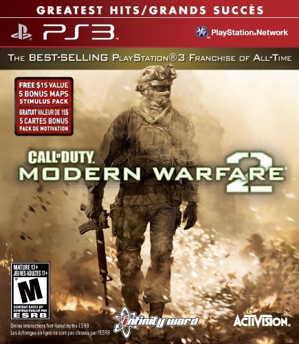 Ps3 Call Of Duty Modern Warfare 2 Activision Inc. M