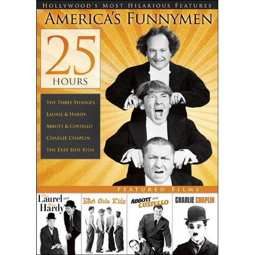Vol. 1 25 Hours Of America's Funnymen Nr 4 DVD