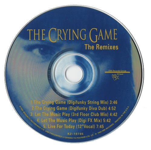 Boy George Crying Game (x2) Let The Mus