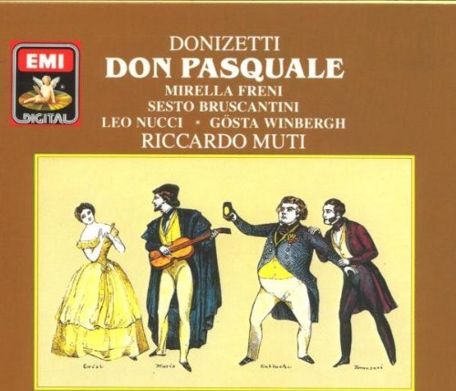 G. Donizetti Don Pasquale Freni Bruscantini Muti 2 CD Set