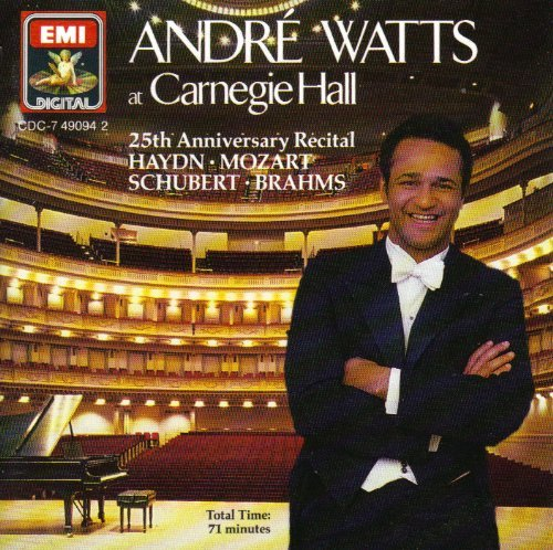 Andre Watts Carnegie Hall