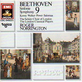 L.V. Beethoven Sym 9 Choral Kenny Walker Power Norrington London Classical Pl