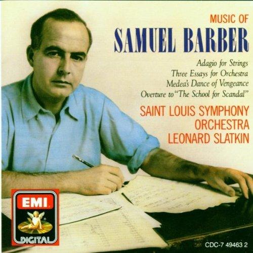 S. Barber/School Scandal/Adagio/More@Slatkin/St. Louis So