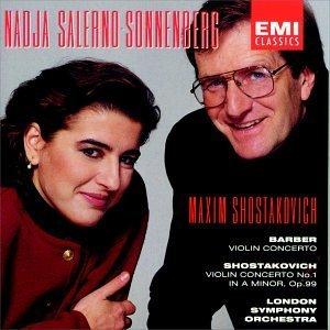 Barber/Shostakovich/Con Vn/Con Vn 1@Salerno-Sonnenberg*nadja (Vn)@Shostakovich/London So