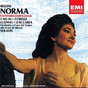V. Bellini/Norma-Hlts@Callas/Corelli/Ludwig/Zaccaria@Serafin/La Scala Orch