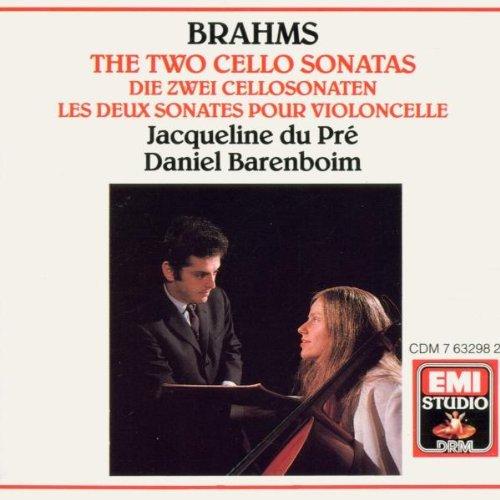 J. Brahms/Son Vc 1/2@Du Pre (Vc)/Barenboim (Pno)