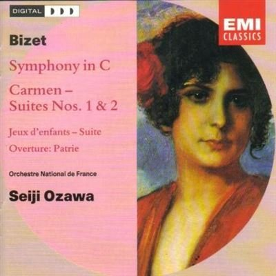 Bizet Ozawa National Orche Symphony In C Carmen Suite