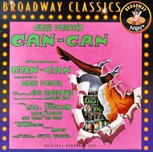 Can Can Original Broadway Cast Verdon Lilo Cookson