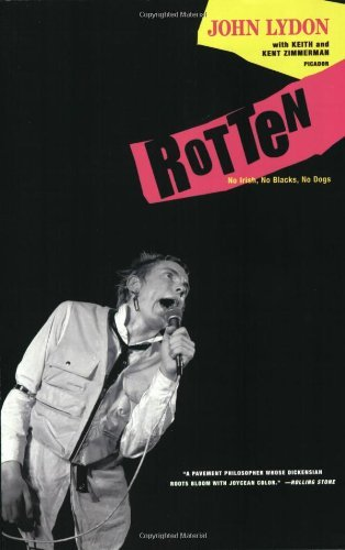 John Lydon Rotten No Irish No Blacks No Dogs