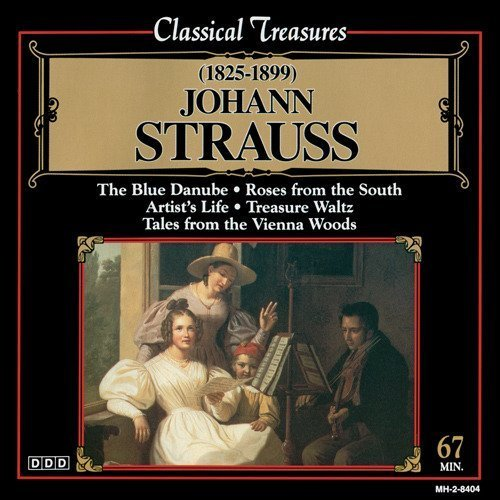 J. Strauss Blue Danube Roses From The Sou