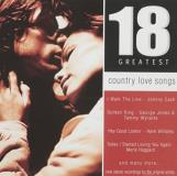 18 Country Love Songs 18 Country Love Songs