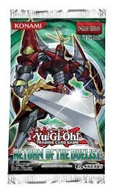 Yu Gi Oh Cards Return Of The Duelist Booster Pack