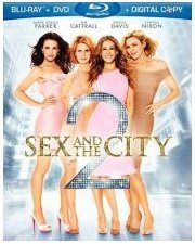 Sex & The City 2 Parker Canttrall Davis Nixon Blu Ray