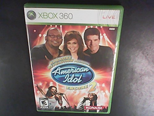 Xbox 360 Karaoke Revolution Presents American Idol Encore Game Only