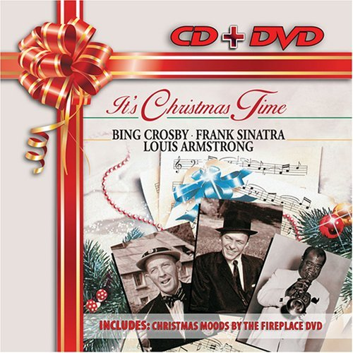 Crosby Sinatra Armstrong It's Christmas Time Christmas Incl. DVD