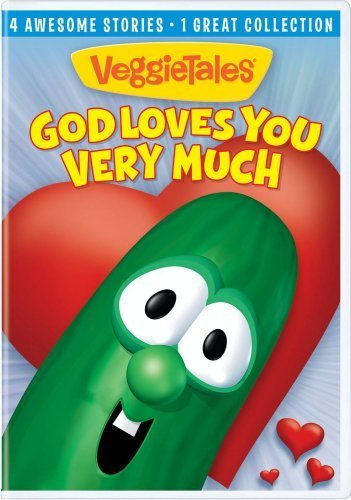 God Loves You Very Much Veggietales Ws Veggietales