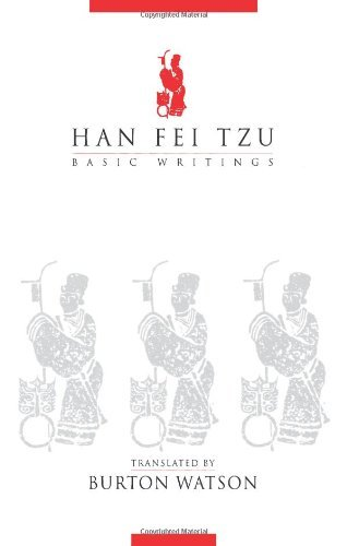 Burton Watson Han Fei Tzu Basic Writings