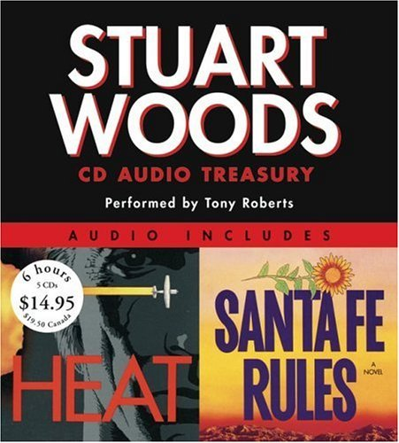 Stuart Woods Stuart Woods Audio Treasury Santa Fe Rules And Heat Abridged
