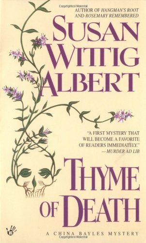 Susan Wittig Albert Thyme Of Death