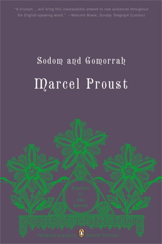 Marcel Proust Sodom And Gomorrah In Search Of Lost Time Volume 4 (penguin Classic Deluxe