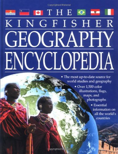Clive Gifford Kingfisher Geography Encyclopedia The