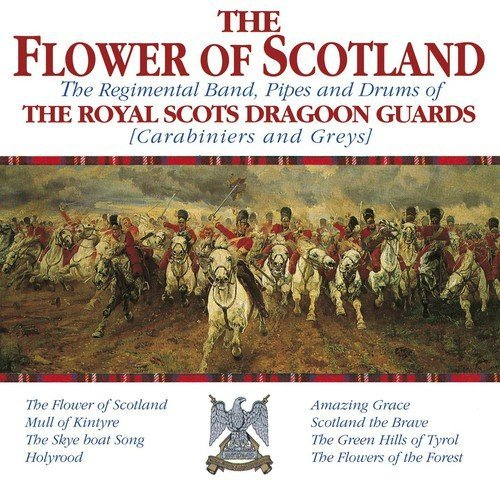 Royal Scots Dragoon Guard Flower Of Scotland Import Gbr