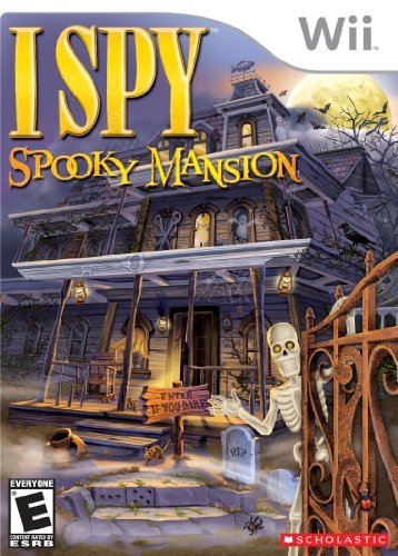 Wii I Spy Spooky Mansion