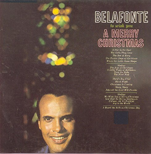 Harry Belafonte To Wish You A Merry Christmas CD R