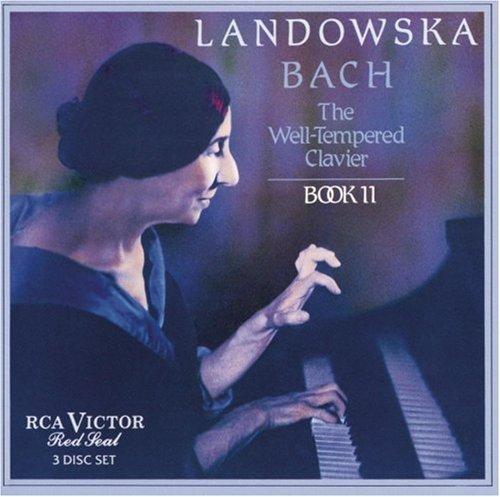 J.S. Bach/Well-Tempered Clavier Bk 2@Landowska*wanda (Hrpchrd)