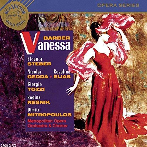S. Barber/Vanessa-Comp Opera@Steber/Gedda/Elias/Resnik@Mitropoulos/Met Opera Orch